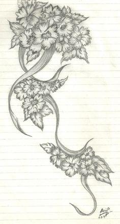 pencil flower