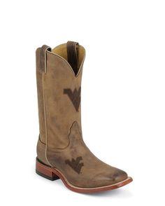 WVU Cowboy boots