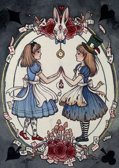 ALICE IN WONDERLAND BY CAITLIN HACKETT