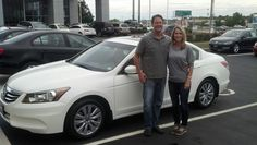 Traci and James I so much appreciate your loyalty to me purchasing your 3rd car from me in less than 1 year.  Enjoy your 2011 Honda Accord!  Jay Grosman WWW.TalkingCarsWithJay.com  Bommarito St.Peters