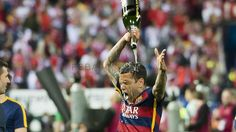 Best Dani Alves photos as a FC Barcelona player | FC Barcelona