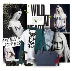 """""""Sleeping In The Dark"""" by myredstar ❤ liked on Polyvore featuring H&M, Wrap, Emi Jewellery, Bebe and Michael Kors"""