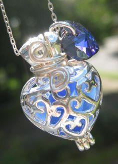 Sea Glass Necklace Pendant Mermaids Tears by MermaidsTearsJewelry