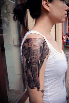 elephant tattoo - 55 Elephant Tattoo Ideas   Art and Design
