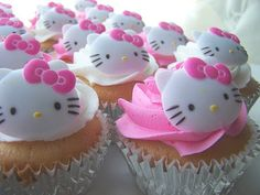 Tartas, Galletas Decoradas y Cupcakes: Paso a Paso Hello Kitty. Galletas, Modelado y Tartas