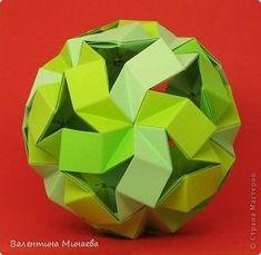 Origami Quilt, Origami And Kirigami, Origami Paper Art, Oragami, Geometric Origami, Modular Origami, Origami Videos, Geometric Sculpture, Math Art