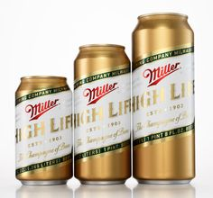 Miller High Life Designed by Landor San Francisco | Country: United States