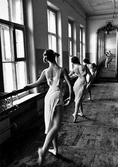 Bolshoi Ballet School, Moscow, by Cornell Capa , c.1958