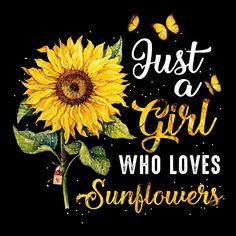 Just a Girl who loves Sunflowers🌻🌻🌻