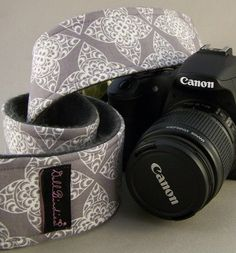 Dollbirdies SLR/DSLR camers strap sleeves are fashioned from a combination of trendy cotton fabric prints to match your personal style and
