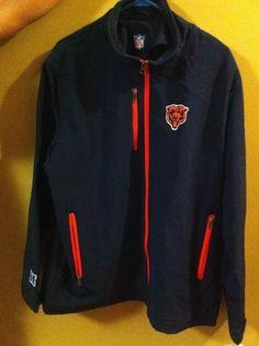 Chicago Bears Jacket Size Large Big and Tall #NFLTeamApparel #BasicJacket