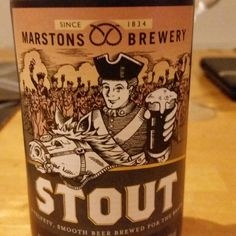 Easily drinkable stout. - Drinking a Morrisons Stout by Marston's Beer Co