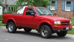 small Pickup Truck    Compact Pickup - 1994 Ford Ranger