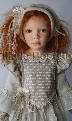 Les belles poupées Zawieruszynski sont sur notre site villalebosquet.com!