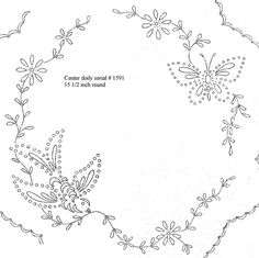 1591 center luncheon doily by love to sew, via Flickr