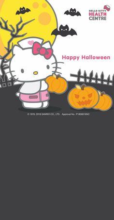 Hello Kitty Hello Kitty Wallpaper, Halloween 2, Halloween Wallpaper, Lisa Simpson, Sanrio, Winter Wallpapers, Fall Winter, My Love, Fictional Characters