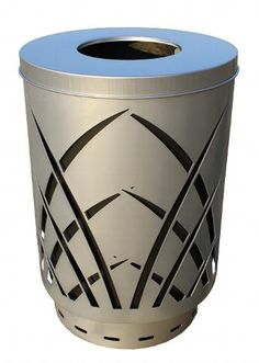 28 Best Decorative Trash Cans Images Garbage Can Canning