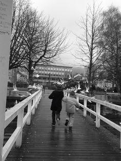 Mis queridos sobrinos en el Lago Constanza, Bodensee Alemania