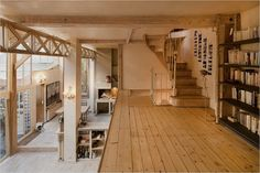 ebenen bilden  gorgeous loft in Paris (via Keltainen talo rannalla)