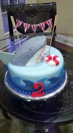 shark cake | Flickr - Photo Sharing!