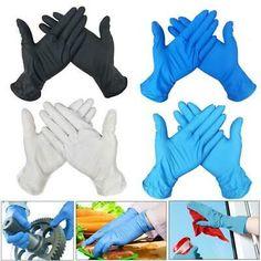 Disposable Gloves Latex Dishwashing/Kitchen/Medical /Work/Rubber/Garden Anti Bacteria Gloves Universal For Hands Butyl Rubber, Latex Gloves, Men's Gloves, Hand Gloves, Disposable Gloves, Gadgets, Left And Right Handed, Work Gloves, Gardening Gloves