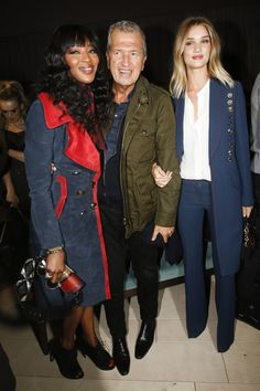 Burberry Fall 2016 Ready-to-Wear Fashion Show Front Row