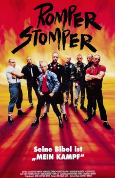 Romper Stomper , starring Russell Crowe, Daniel Pollock, Jacqueline McKenzie, Alex Scott. A group of skinheads become alarmed at the way their neighbourhood is changing. #Crime #Drama