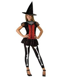 lucky witchbone costume
