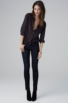 This Is The Most Comfortable Non-Jegging Jean #refinery29 http://www.refinery29.com/velvet-clothing-line#slide-5 ...
