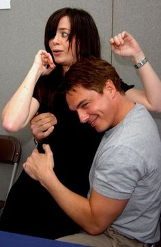 john barrowman & eve myles - Google Search