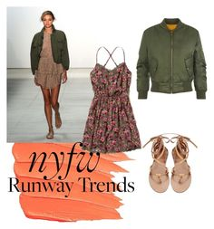 """Affordable alternative: NYFW runway trend"" by karensmedley on Polyvore featuring Marissa Webb, WearAll and Hollister Co."