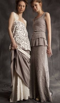 Love how these looks are soft and sleek, yet there are layers and different pieces in different, yet harmonious shades.