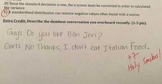 Awesome professor asks best extra credit questions