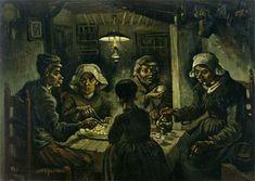 """""""Los comedores de patatas"""" (1885) de Vincent van Gogh"""