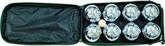 Classic Game Collection 8 Ball 73Mm Bocce/Boules Set With Canvas Storage Case, 2015 Amazon Top Rated Bocce #Toy