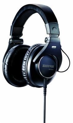 Shure SRH840 Professional Studio Headphones – Black