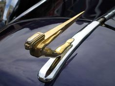 Art Deco Hood Ornament - Ottawa, Ontario