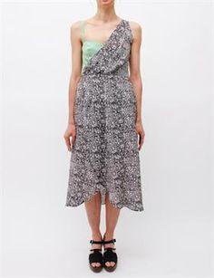 Rachel Comey Cassus Dress - Stem/Black