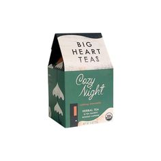 Settle in for a cozy night with this calming chamomile tea from Big Heart Tea Company. A blend of lemongrass, chamomile, and spearmint, this certified organic tea is caffeine-free and comes ready-to-brew in 10 plastic-free tea sachets. Ingredients: lavender, organic tulsi, organic fennel, organic gotu kola Made by: Big Heart Tea Company Made in: St. Louis, MO Specifications: 1oz - 10 tea sachets Tea Companies, Chamomile Tea, Tea Tins, Tea Cozy, Herbal Tea, Lemon Grass, Brewing, Herbalism, Gotu Kola