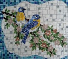 Image result for mosaic song bird images