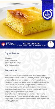 Leche Asada Flan, Tasty Videos, Cake Tutorial, Desert Recipes, Mini Cakes, Deli, Cake Cookies, Deserts, Food And Drink