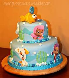 Image detail for -Bubble Guppies Birthday Cake | Dream Day Cakes
