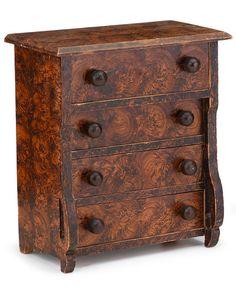 American Furniture, Folk and Decorative Arts Buy Home Furniture, Painting Antique Furniture, Best Outdoor Furniture, Antique Paint, Country Furniture, Furniture Styles, Doll Furniture, Antique Toys, Industrial Furniture