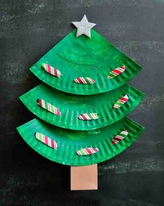 Fun paper plate Christmas tree craft for kids, preschool Christmas crafts, Christmas fine motor activities, Christmas art projects for kids. Christmas Art Projects, Christmas Crafts For Toddlers, Christmas Activities, Toddler Crafts, Preschool Crafts, Kids Christmas, Christmas Plates, Christmas Candle, Kid Crafts
