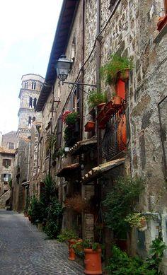 Il borgo medievale di Ronciglione