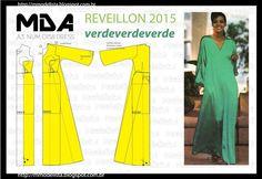 A3 NUMo 0158 DRESS - REVEILLON VERDE