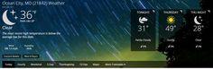 Ocean City MD Weather Forecast for Thursday, Nov 20, 2014 - Warm & Sunny, Beach Time! #oceancity