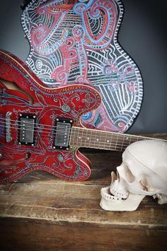 Guitarprojects by Swedish artist Jesper Eriksson, www.jespereriksson.nu