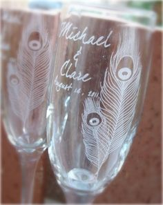 these would be awesome for our glasses at the wedding
