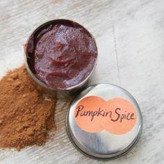 pumpkin spice lip balm how to